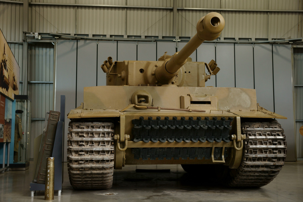 Tiger I Tank. Similar tank was used by Otto Carius, tank ace.