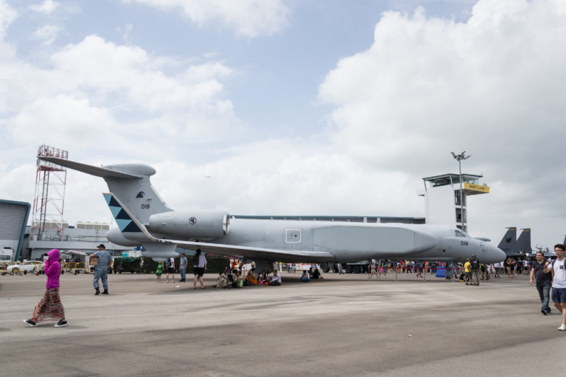 IAI G550 AEW&C of the RSAF, which was purchased in 2010 to replace their aging E-2C Hawkeyes.