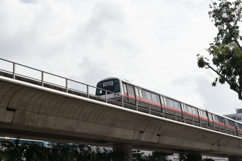 Singapore EXPO is accessible to SMRT's East West Line.