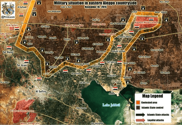 Liberation of Kuweires base 10th Nov. 2015