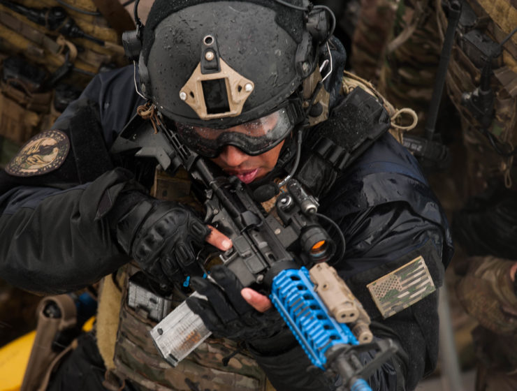 Coast Guard's Maritime Security Response Team (MSRT) trains in Hyannis